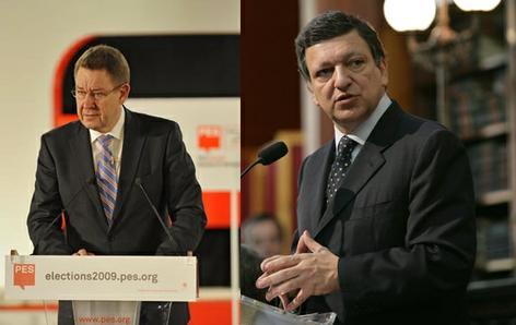 Rasmussen vs Durao Barroso